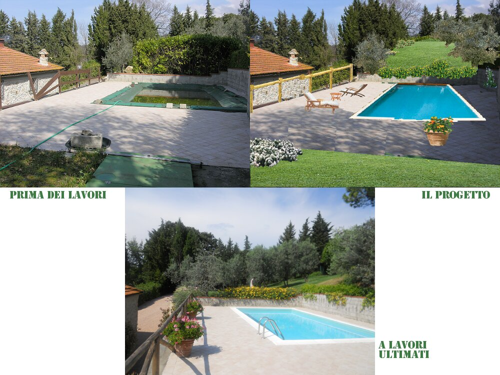 Elegant esempio di fotografica with progetti giardino - Giardini privati progetti ...